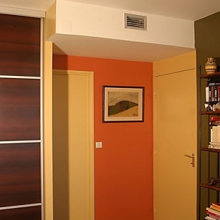 Un appartement perché comme un nid